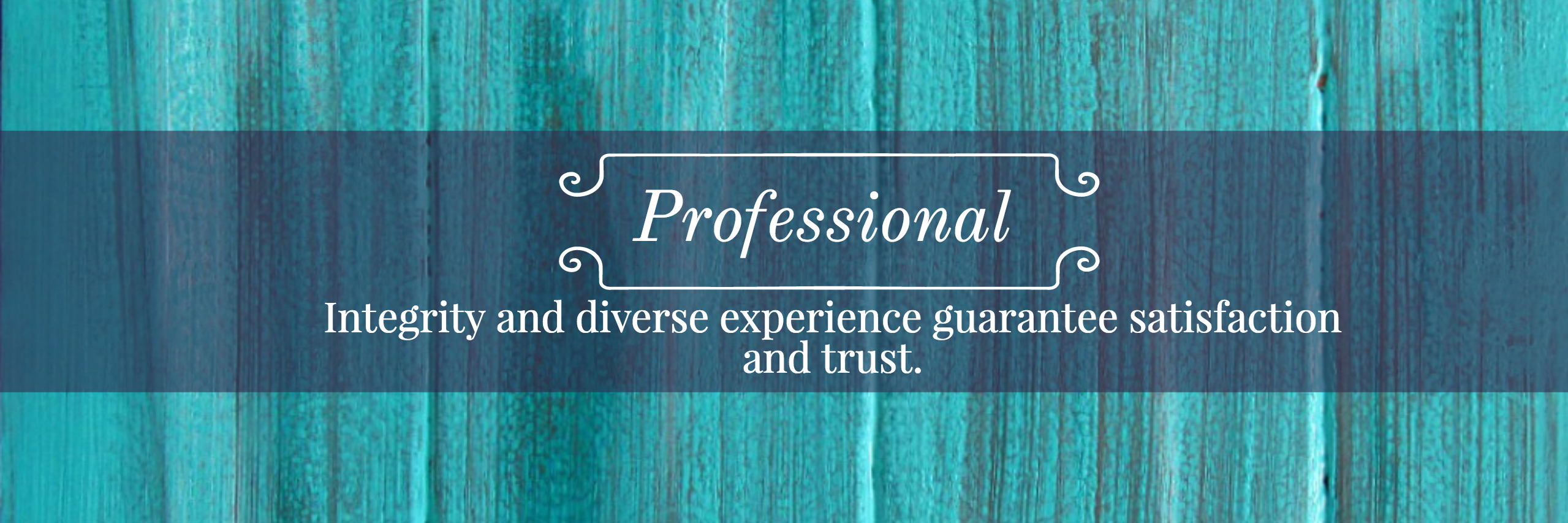 Professional and Experienced